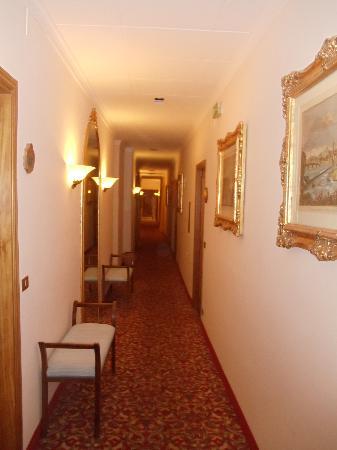 Hotel Goldoni : corridor