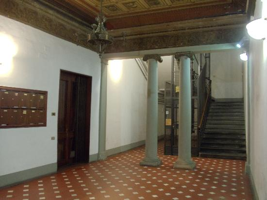 Hotel Goldoni : on the 1st floor of the building