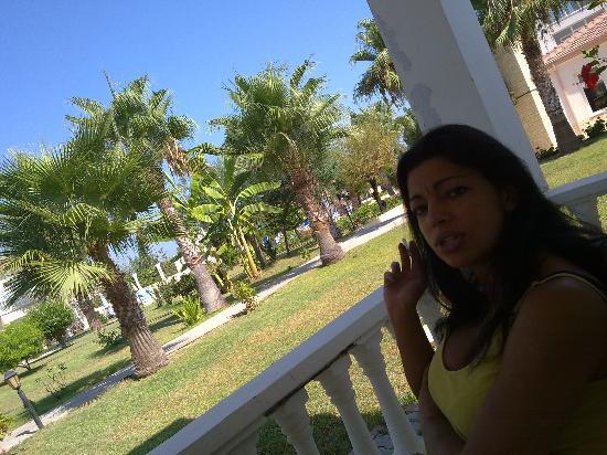 Mountain View Hotel & Villas: giardino