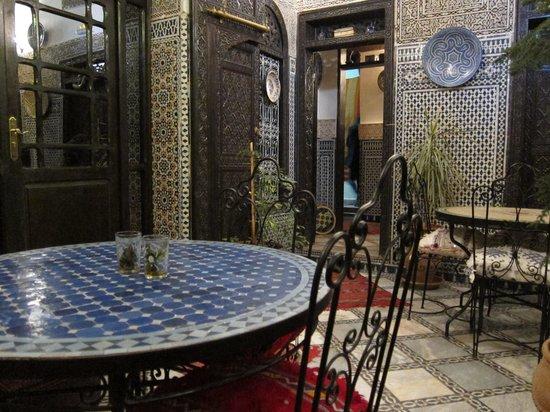 Riad Hala: Breakfast room