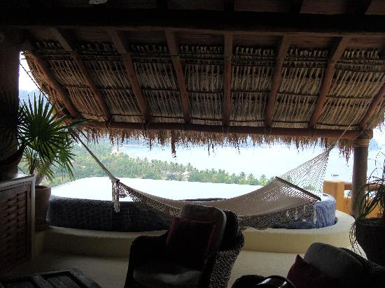 Hotel Cinco Sentidos: View from the living area