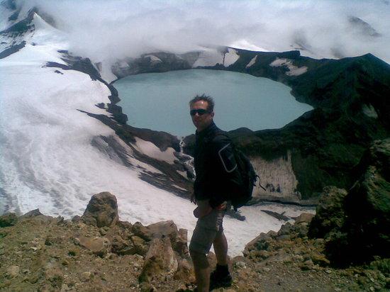 Ohakune Court Motel: Ruapehu Crater Lake hiking, Turoa side