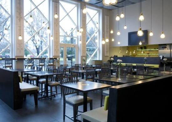 Quality Hotel Galaxen: Restaurant