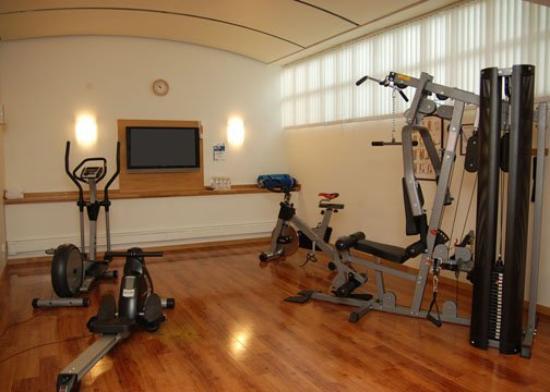 Quality Hotel Galaxen: Gym