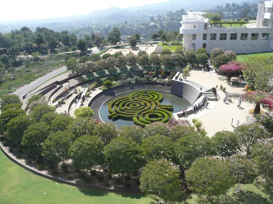 Getty Center: Gardens at the Getty