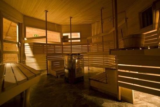 Hotell E-10: Sauna