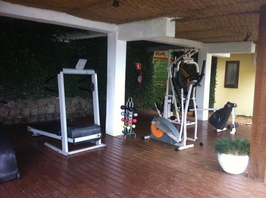 Barra do Piuva Porto Hotel: academia - gym