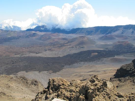 Haleakala Crater: The Crater
