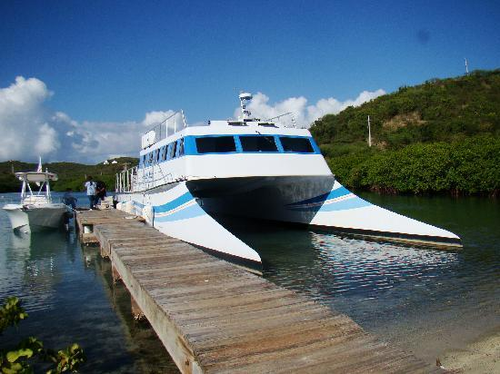 Sea Breeze Hotel: Private Ferry