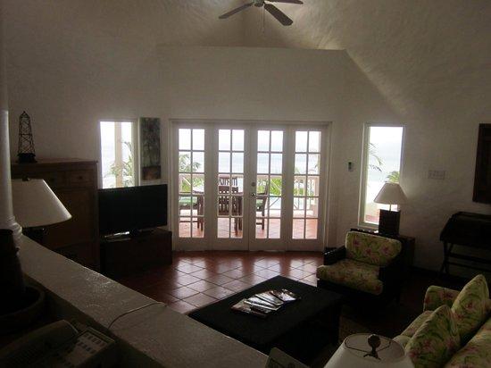 Windjammer Landing Villa Beach Resort : the view from the kitchen