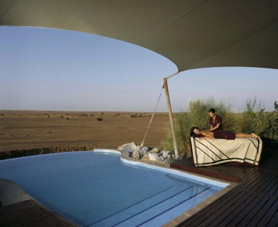 Al Maha, A Luxury Collection Desert Resort & Spa : Suite - Spa Treatment