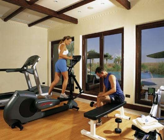 Al Maha, A Luxury Collection Desert Resort & Spa: Gym