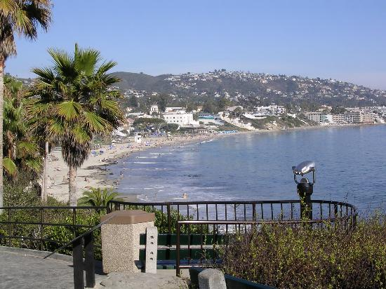 Laguna Beach - view from cliffs near the Las Brisas Restaurant