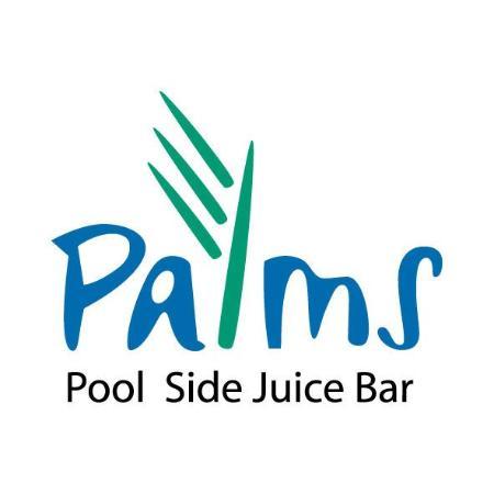 โรงแรมฟลอร่าปาร์คดีลักซ์อพาร์ทเม้นท์: Palm Side Juice Bar Logo