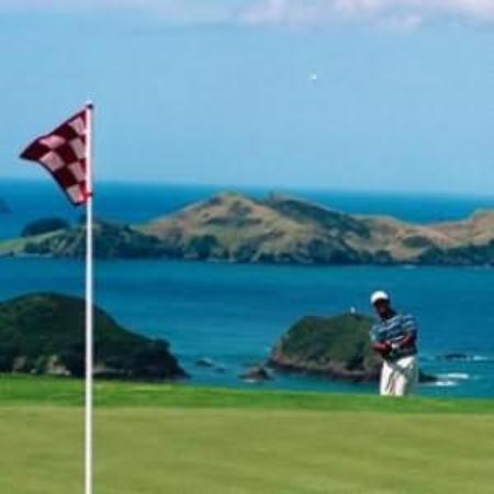 Matauri Bay, Nowa Zelandia: World famous golfing at the Kauri Cliffs golf course