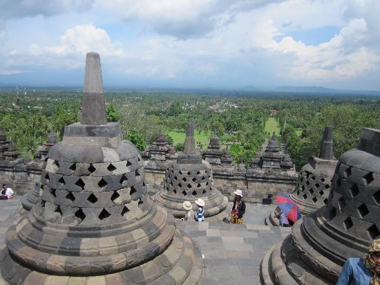 วัดโบโรบูดูร์: Borobudur Temple - I