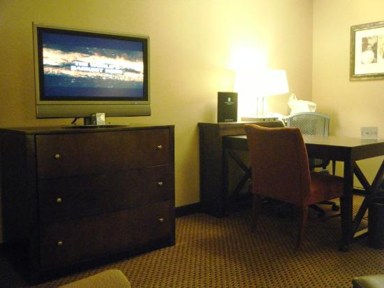 Embassy Suites by Hilton Chicago - Lombard/Oak Brook: TV & Desk