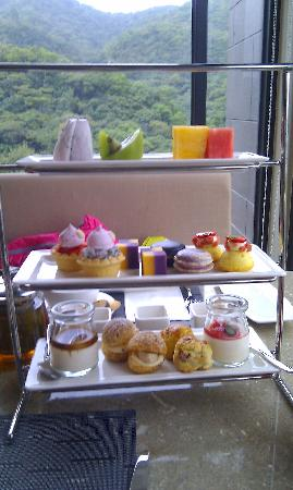 Grand View Resort Beitou: complimentary tea set