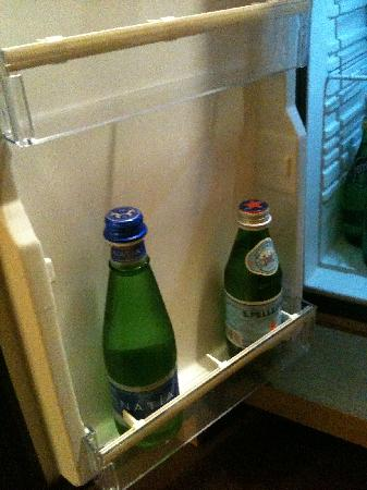 Grand View Resort Beitou: complimentary bottled  mineral water