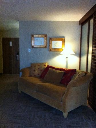 White Oaks Conference Resort & Spa: Super soft cosy comfy Sofabed