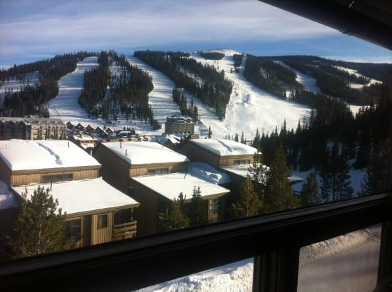 Beaverhead Condos: view from the window