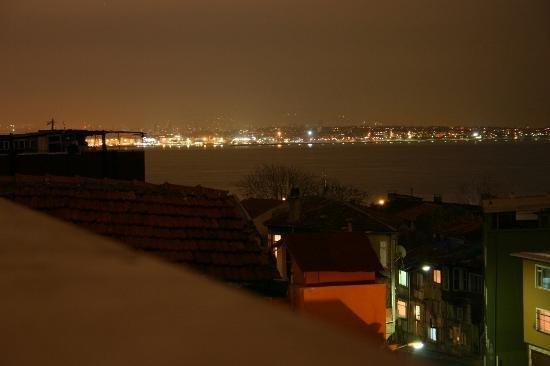 Tashkonak Hotel: View From Terrace Asian Side Of Istanbul