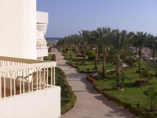 Hilton Hurghada Long Beach Resort: view from room