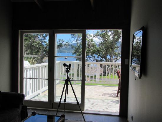 Shoal Bay Estate, Great Barrier Island: Upstairs Lounge