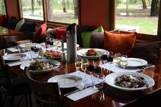 Hunter Valley Resort: our lunch