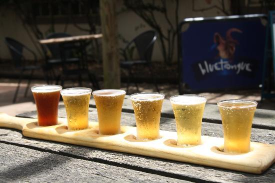 Hunter Valley Resort: beer sampler