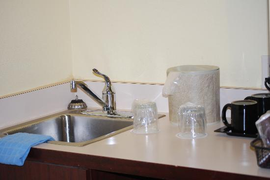 SpringHill Suites Milford : Minisuite - angolo cottura