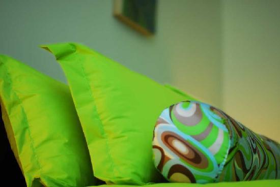 Magnolia Bed & Breakfast Shanghai: beautiful fabric
