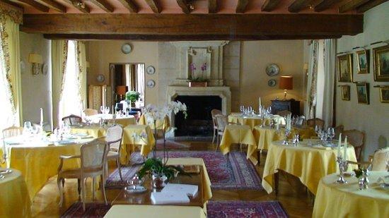 Domaine des Hauts de Loire : Dining Room
