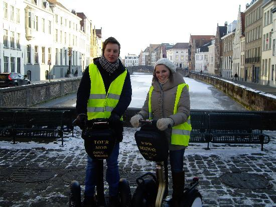 Segway Bruges: The best photo-opportunity on the tour