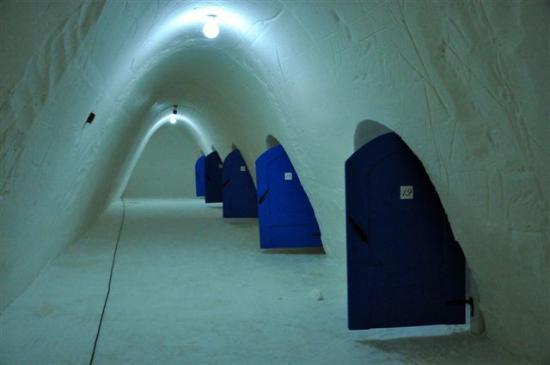 SnowHotel in Kemi : Rooms