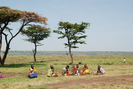 Bettykensafaris: Masai village