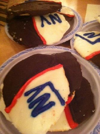 Sugar Shack Dessert Co. : superbowl cookies!!!