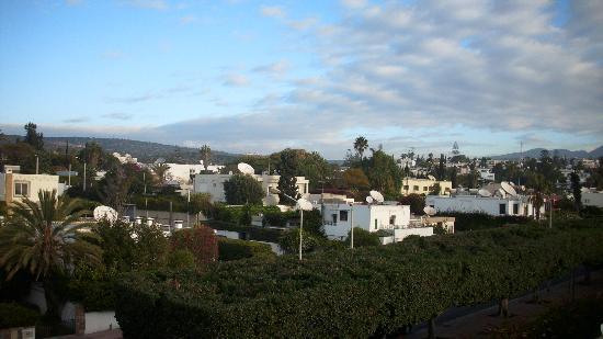 Aferni Hotel : Ausblick auf Talborjt