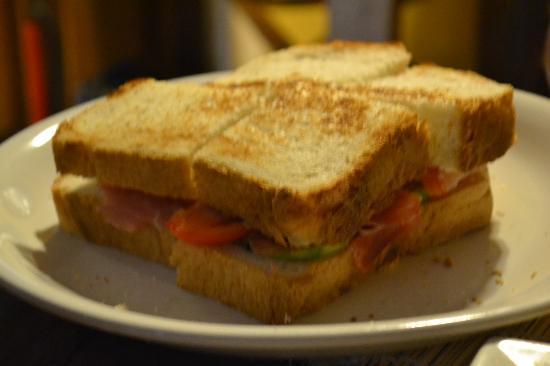 Manneken Pis Resto/Bar: Parma Sandwich