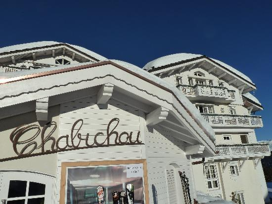 Le Chabichou : Hotel direkt an der Piste - genial!