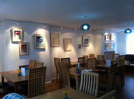 The ArtHouse Cafe, Deli and Gallery: with a delicious homemade menu and artwork on the walls regularly changing, there's always somet