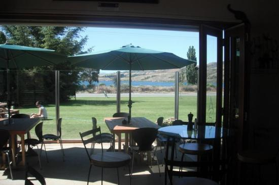 The Cider House Cafe & Bar: view from the cafe