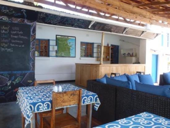 Aqua Africa Lodge: The Dive Deck Diner