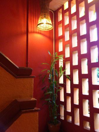 Singgahsana Lodge: nice corner, like welcoming u~