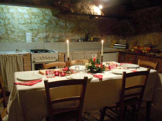 Pianciano: Sala da pranzo casa della Roccia