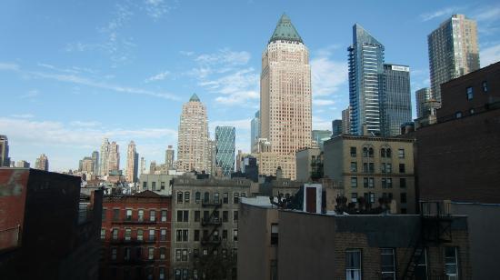 Comfort Inn Times Square West: Ausblick aus Zimmer