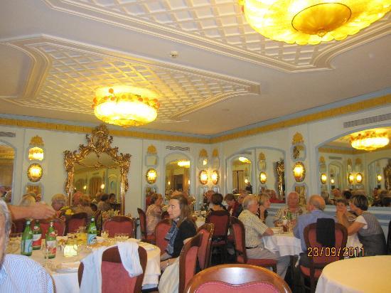 Hotel Eliseo Park's: sala ristorante