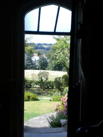 The Waltons: The view from the front door out towards Ranmore