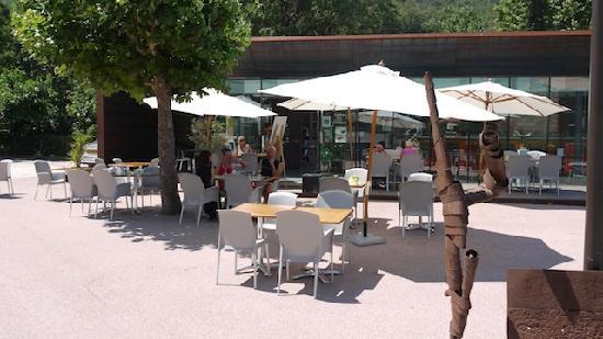 Taurinya, France: La terrasse