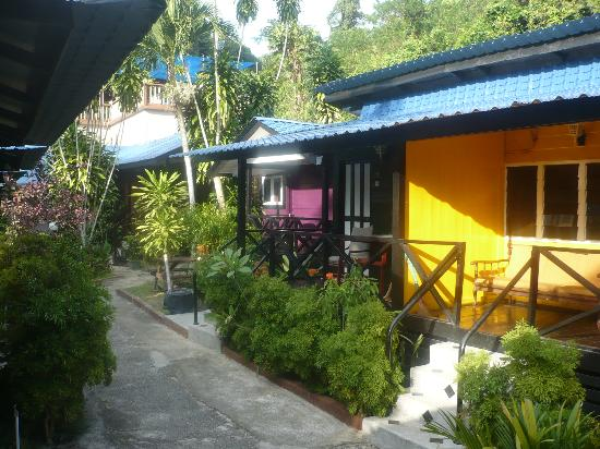Nipah Bay Villa: the chalets